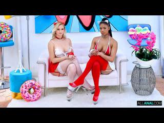 Paisley Porter, Nia Nacci - Non-Stop Anal With Paisley And Nia - Threesome Sex Teen Oil Big Natursl Tits Juicy Ass Deepthroat