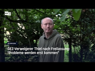 GEZ-Verweigerer Thiel aus Gefängnis entlassen: Sein Kampf gegen den Rundfunkbeitrag geht weiter