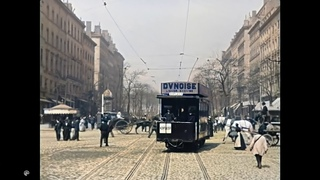 [4k, 50fps, colorized] (1895-1896) Scenes of Lyon, France. Lumiere brothers.