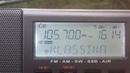 105.7 Klassikaraadio(Pikareinu/Valgjärve raadio- ja telemast (Plv)~382km