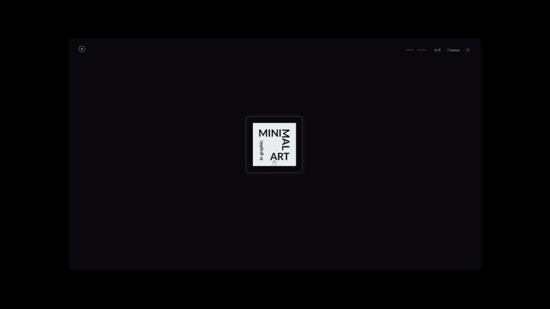 Мультимедийное учебно-методическое пособие «Пропедевтика. Minimal art»