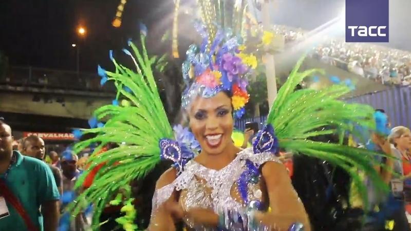 Карнавал в Рио-де-Жанейро: танцуют все!