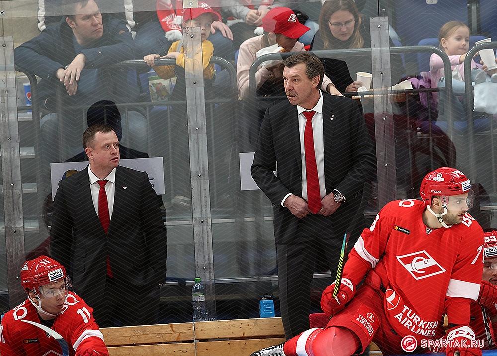 Олег Знарок: Мужики вышли на третий период и сражались до конца. Это – команда