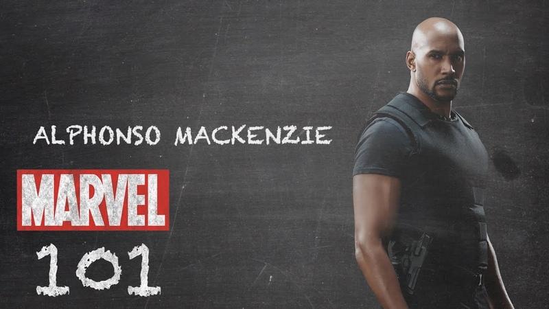Agent Alphonso Mack Mackenzie Marvel 101 Marvel's Agents of S H I E L D
