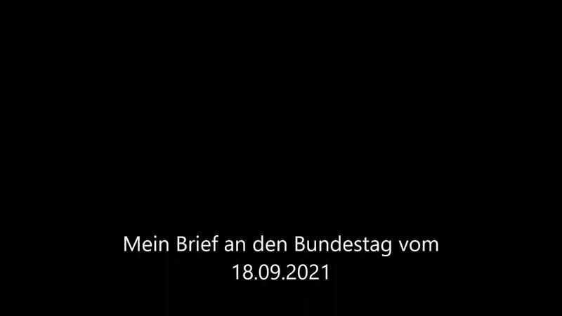 S H A E F Mein Brief an den Bundestag