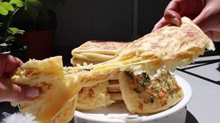 Petit Pain Feuilleté à la Poêle au fromage Super Simple 👌