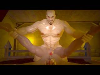 Emperors new toys kratos god of war (12) naughty machinima