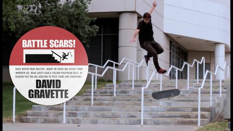 David Gravette's Battle Scars