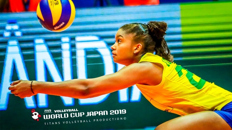 Lorenne Geraldo Teixeira BEST Volleyball SPIKES BLOCKS Women's WORLD CUP Japan 2019