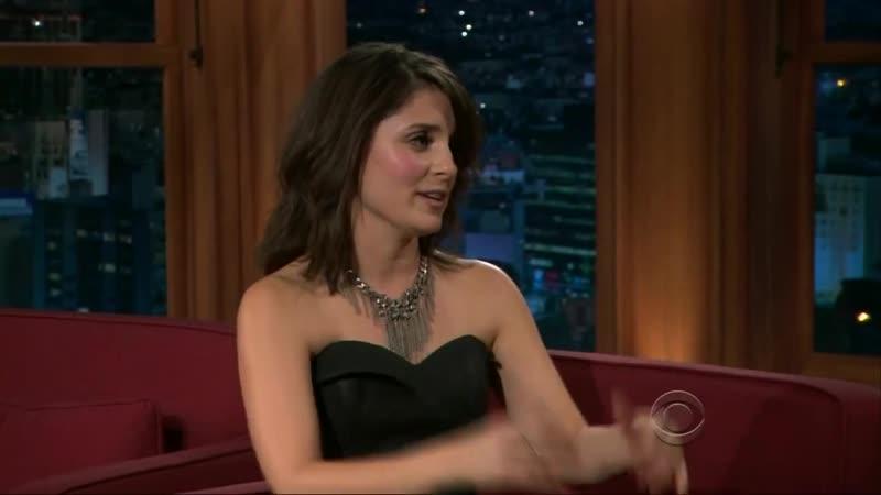 Shiri Appleby au Late Late Show de Craig Ferguson le 15 Janvier 2010