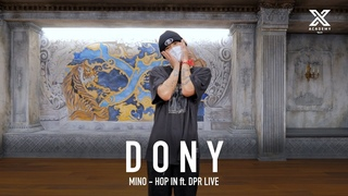 DONY X Y CLASS CHOREOGRAPHY VIDEO / MINO(송민호) - Hop In(어부바) (Feat. DPR LIVE)