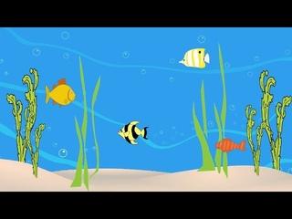 Развивающие мультики. Мультик про рыбок