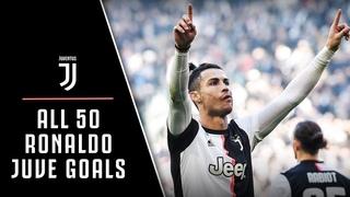 EVERY SINGLE Cristiano Ronaldo Juventus Goal! | CR7 to CR50