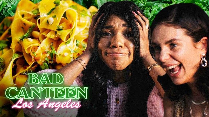 We ruined Teala Dunn's favourite food BAD CANTEEN EP 12 A New Cooking Show смотреть онлайн без регистрации