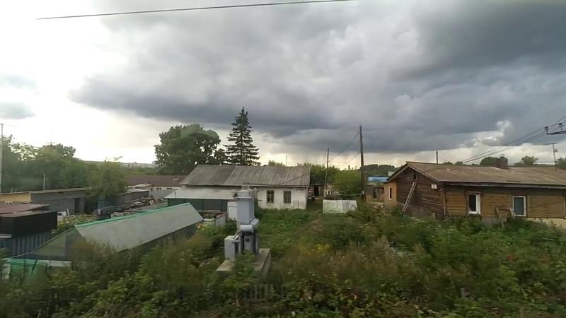 От Томска до Яшкино из окна поезда
