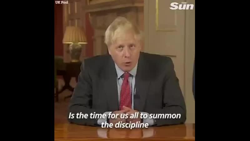 СМИ Великобритании и сами британцы вовсю обсуждают выступление Бориса Джонсона о борьбе с короной