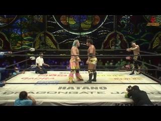 Dragon Kid & Shuji Kondo vs. Team Dragon Gate (Ben-K & Jason Lee)