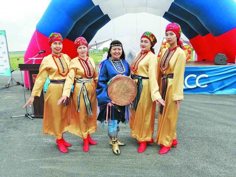 Маргарита с хореографическим коллективом «Айас»
