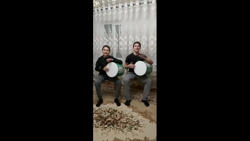 Братья Марат и Керам Баевы, сол Къарча