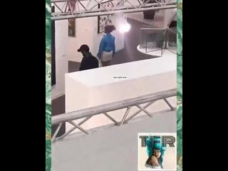 """Рианна на выставке """"Frieze"""", Regent's Park, Лондон ()"""