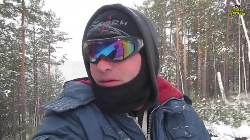 Боря катается на горнолыжной базе в Олхе 02 21г Семья Бровченко
