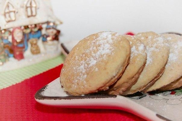 Печенье с корицей и яблоком