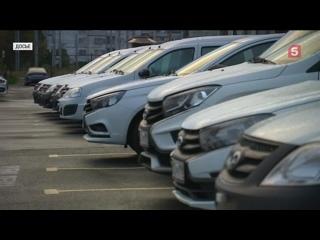 Продажи легковых авто вРФ пошли вверх