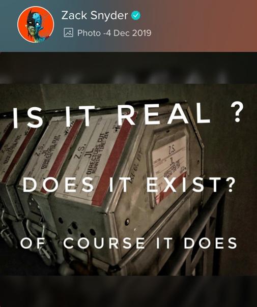 На одном из кадров «Армии мертвецов» Зака Снайдера обнаружили пасхалку к режиссерской версии «Лиги справедливости»
