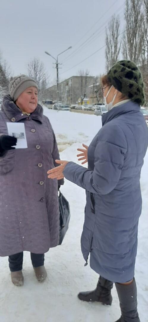 Библиотекари рассказали жителям Петровска о вторичном использовании новогодних деревьев
