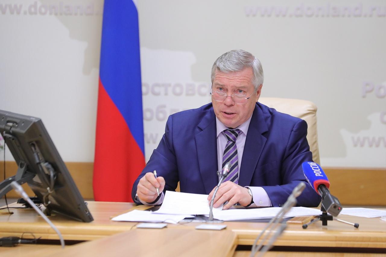 Губернатор Василий Голубев смягчил действующие из-за пандемии ограничения