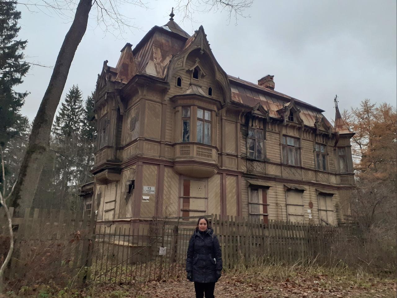 Шуваловский парк и заброшенная дача Месмахера