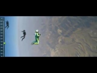 американец прыгнул без парашюта