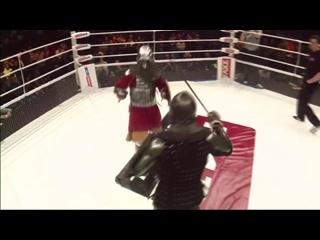 Бой рыцарей - Евгений Беденко vs. Иван Васильев, M-1 Medieval _ Москва, M-1 Challenge 56