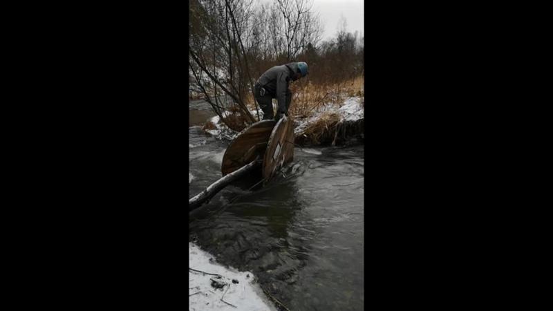 Эпизод тренировки на реке Издревая