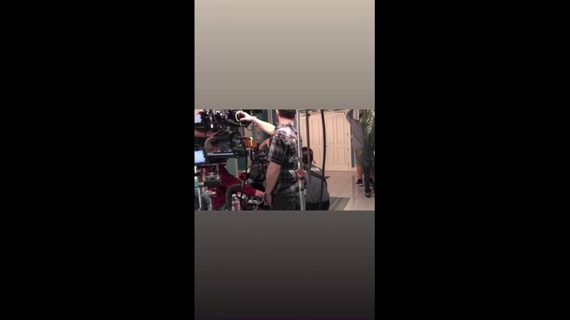 Видео со съёмок финального сезона Девственницы Джейн