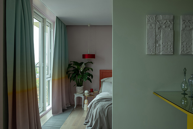 Нежный интерьер квартиры 37 м в Москве.