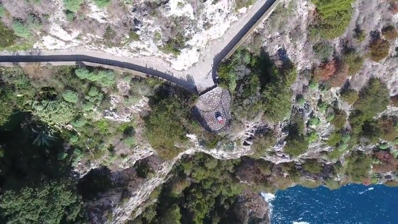 CAPRI COMPILATION Malaparte Faraglioni Tragara Augusto DRONE