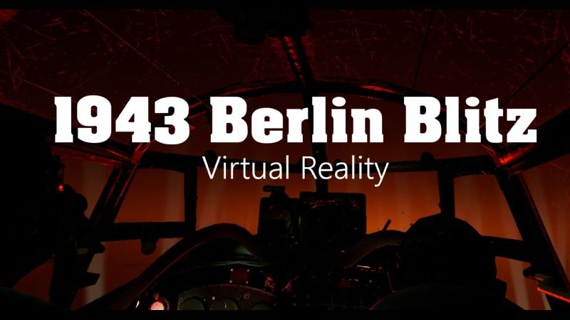 1943 Berlin Blitz VR Nico probeer VR