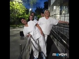 Курганские врачи - Настоящие герои! В борьбе с COVID-19. Исполнение песни - сотрудники 2-ой горбольницы.