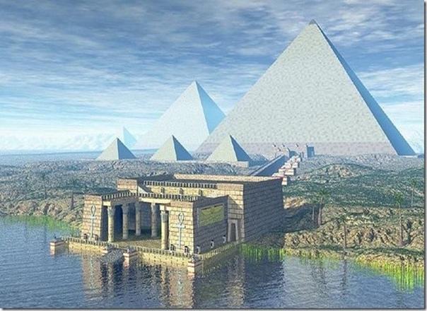 Пирамида Хеопса Это единственное сохранившееся до наших дней чудо света из тех семи, что были изначально. И хотя вы можете на неё посмотреть и сейчас, вам всё равно не удастся посмотреть на её