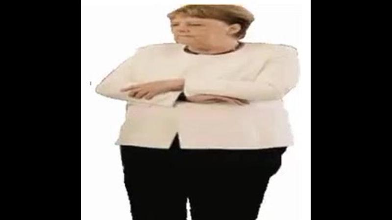 Merkel zittert