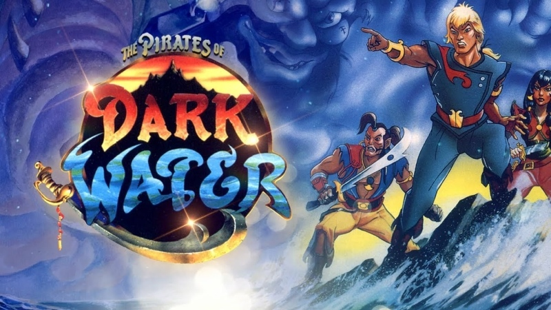 VHS Forever Пираты темной воды The Pirates of Dark Water 1991 мультсериал 1 сезон