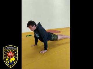 Дистанционная тренировка спортсмена отделения НАДО. Первомайск