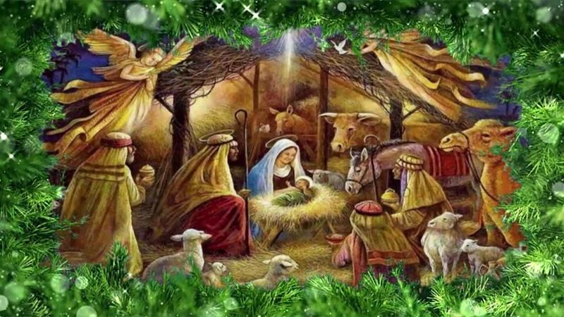 Шуберский СДК и прихожане Храма в честь иконы Божьей Матери Неопалимая купина поздравляют с Рождеством Христовым