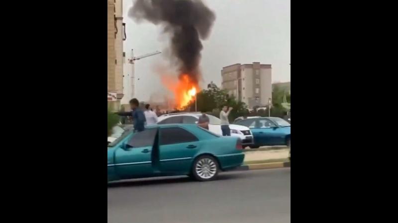 В Душанбе взорвалась заправка