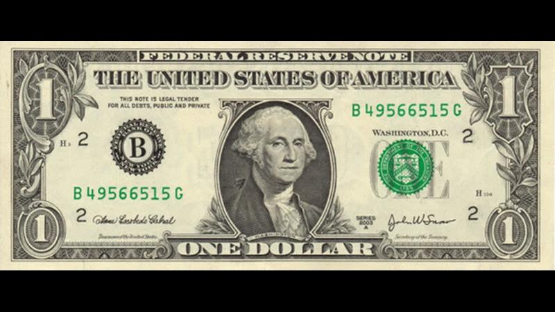Наглая ложь первого канала о крахе доллара