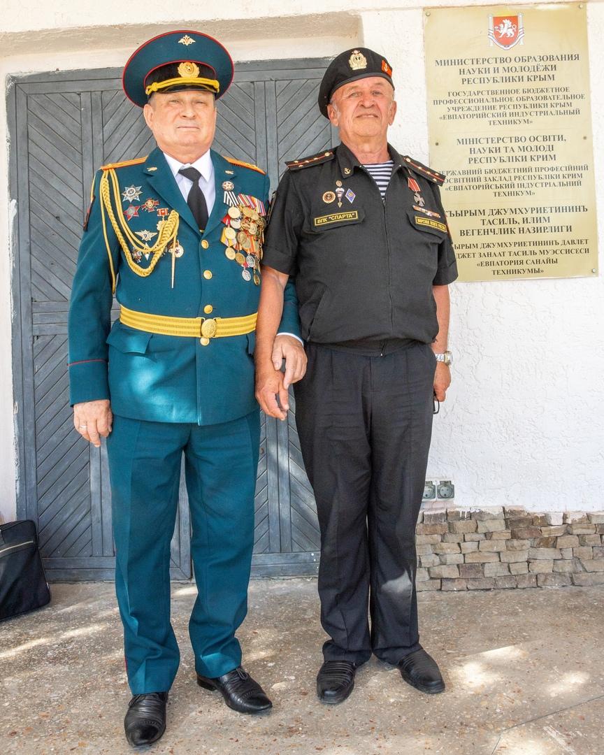 Клубу юных морских пехотинцев «Спарта» присвоили имя Героя Советского Союза, изображение №3