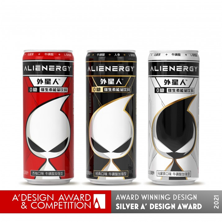 Alienergy Energy Drink Functional Beverages by Genki Forest