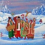 Щедровки и колядки на Рождество и Святки для детей
