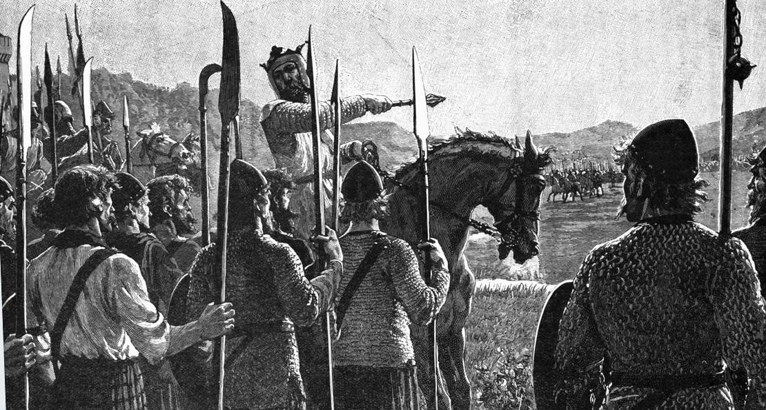 Роберт Брюс и его воины